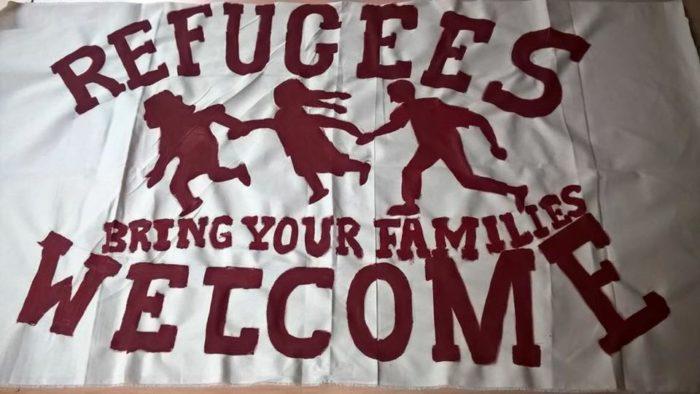 Refugees Welcome - kein Mensch ist illegal